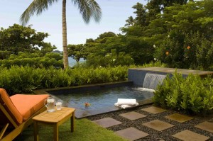 Wailea Beach Villa private plunge pool