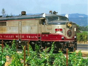 Wine train Napa