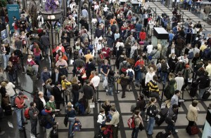 Crowded Airports