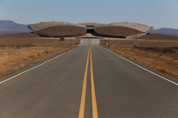 Spaceport America on tour