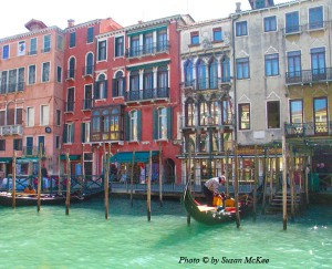 touring Venice, Italy