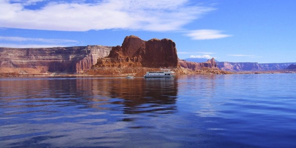 House boat Lake mead