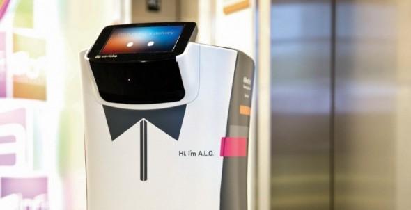 Robots at hotels