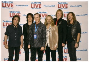 Carnival cruises with Styx
