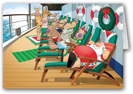 Christmas at Sea