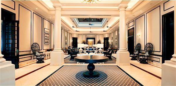 Luxury hotel in Myanmar