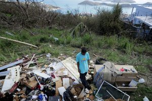 USVI hurricane damage