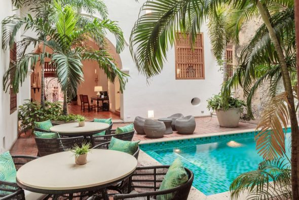 Casa San Augustin in Cartagena, Columbia bucket list 2018