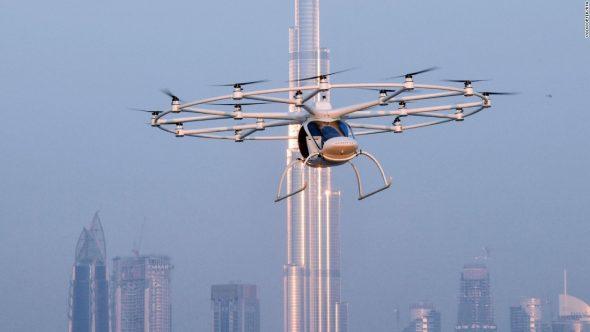 daub flying taxies of future