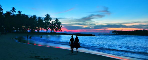romance travel beach