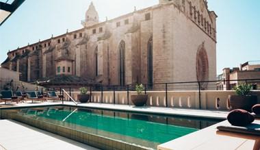 Sant Francesc hotel rooftop