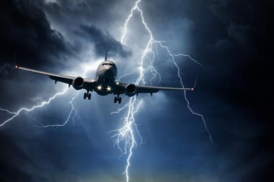 flight delay in bad weather