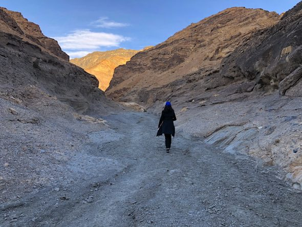 Visiting death Valley