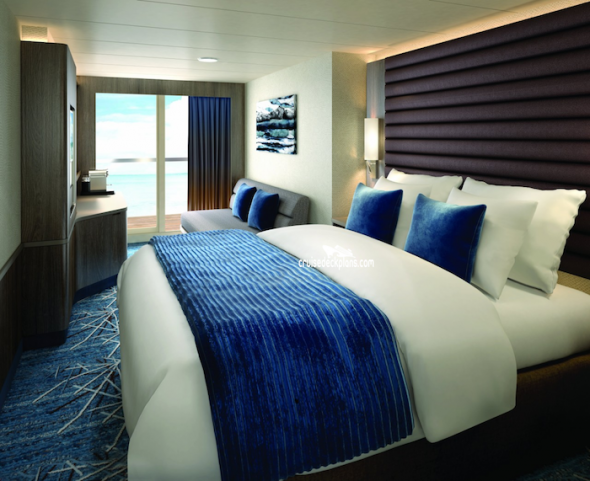 Norweigan Bliss stateroom