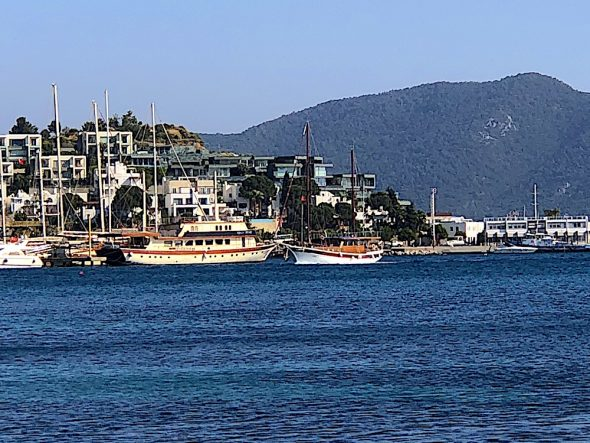 Bodrum Coast in Turkey