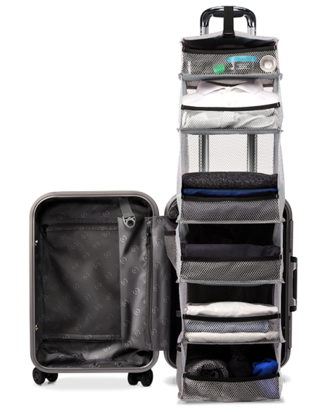 Travel-Intel luggage packing