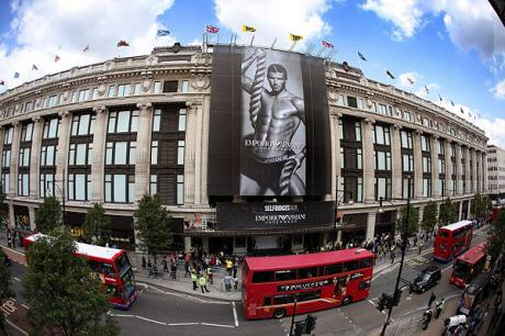 Selfridges shopping