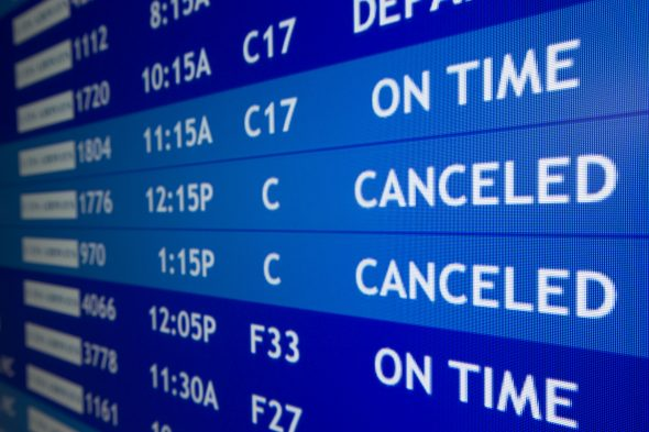 Airline cancellations