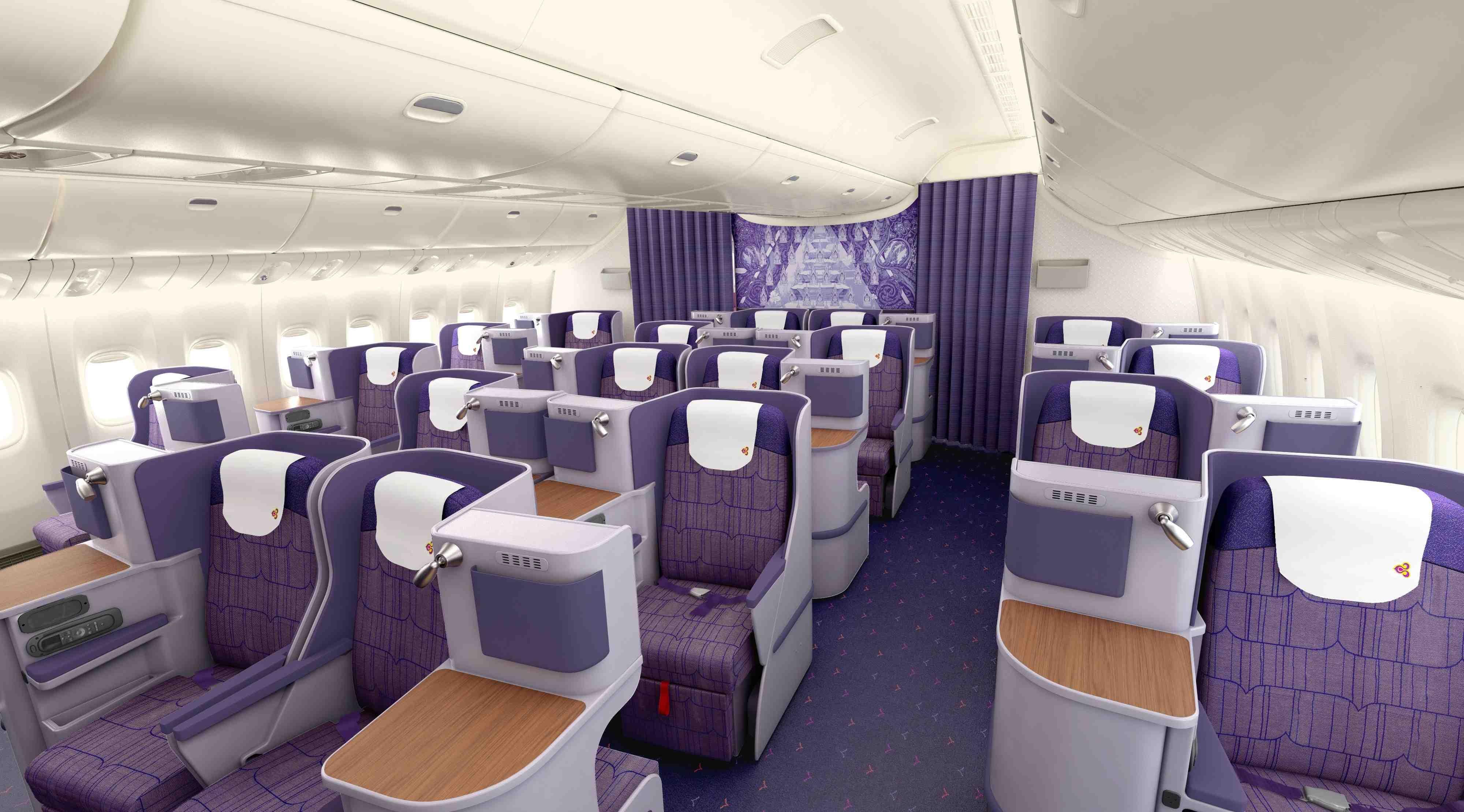 Image result for thai airways business class