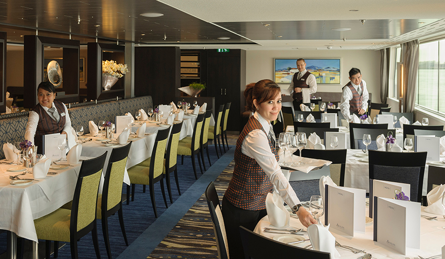 Avalon waterways food cruises