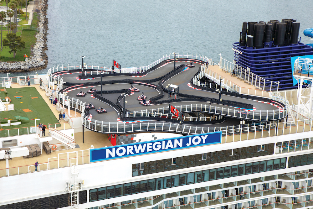 Norwegian Joy Inaugural. Los Angeles, California