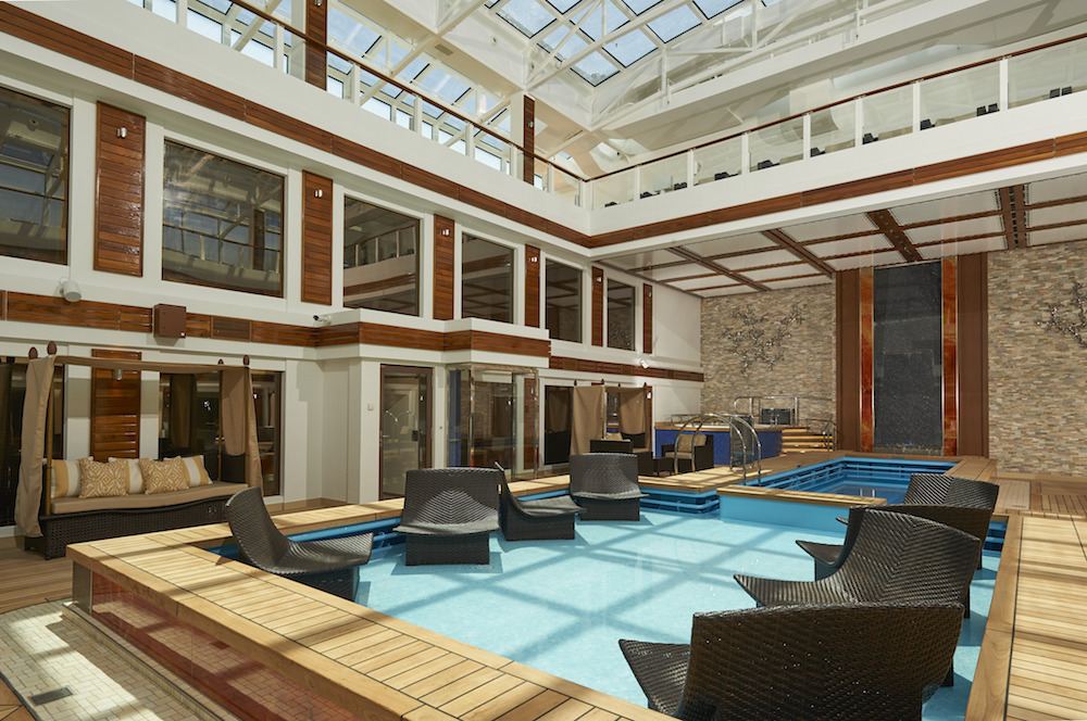 2017 Norwegian Joy lounges