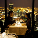 Dining w view