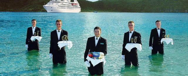 sailing with Seabourn